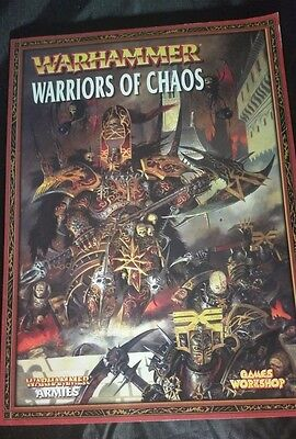 Warhammer Fantasy Battles, Warriors Of Chaos Codex [Softcover]