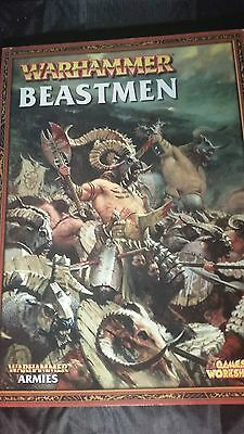 Warhammer Fantasy, Beastman Codex [Softcover]