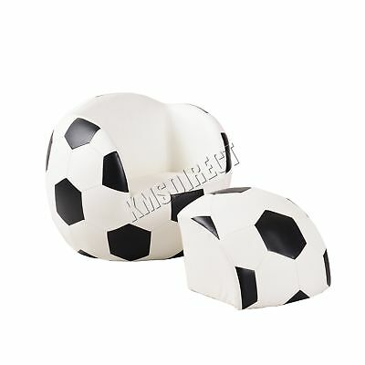 FoxHunter Kids Armchair Games Football Chair Boys Sofa Children Seat KSP07 New