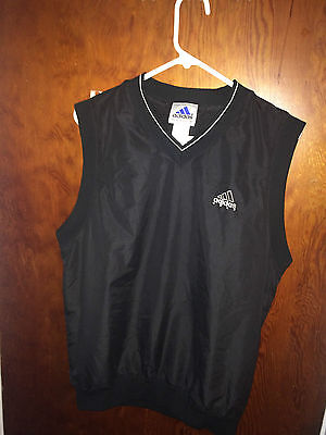 adidas golf vest in great shape size M