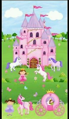Little Princess Quilt Panel....free Post....in Stock Now