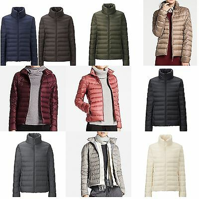 UNIQLO 2016 AW  Women Ultra Light Down Jacket with Pouch Auth