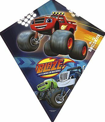 Blaze and The Monster Machines Kids Outdoor Toy single line Kite  70 x 60cm