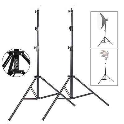 S302x2 Heavy Duty Studio Light Stand 300cm10ft spring Cushioned Master Stacking