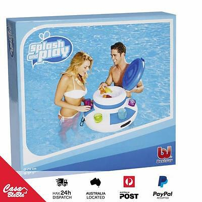 Floating Inflatable Cooler - Pool Toys - Summer - Drinks & Food Cool