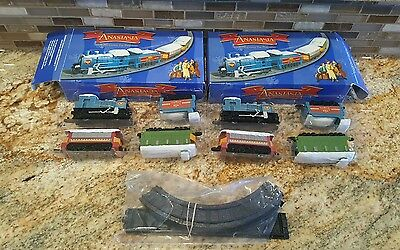 Disney Anastasia Miniature Christmas Toy Train Set 2 1997 20th Century
