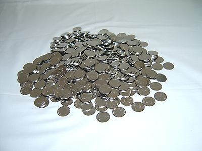 300 ==New== Stainless Non-Magnetic Skill Slot Machine Token Coins - Pachislo