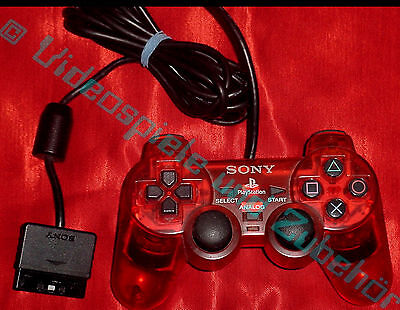 Sony Original Dual Shock 2 Controller In Rot  !  Für Playstation 2  !