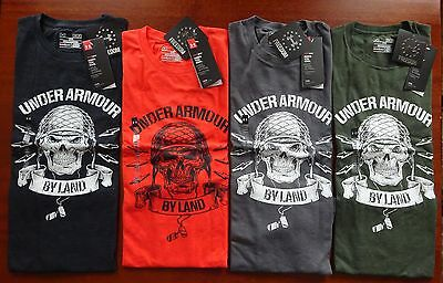 Under Armour Men's Freedom Army Short Sleeve Tactical Tee NWT Freedom Line