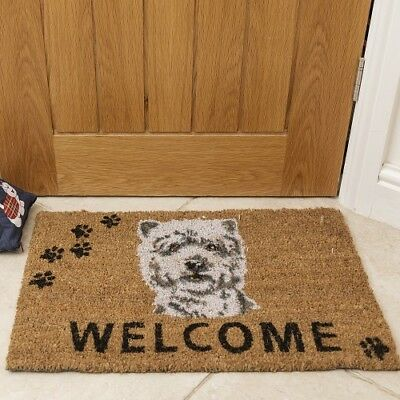 Westie Doormat - West Highland White Terrier
