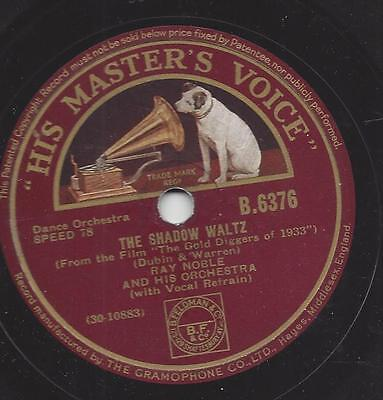 Ray Noble  Orchester 1933 mit Al Bowlly : The shadow Waltz
