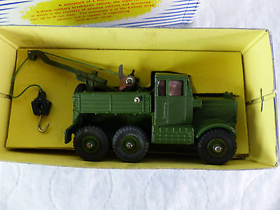 Dinky Toys 661 - Military  Recovery Tractor LKW - sehr gut in Box - 1960er Jahre