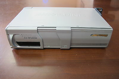 Used Alpine CHA-S614 CD Auto Changer 6 Disc CD Shuttle