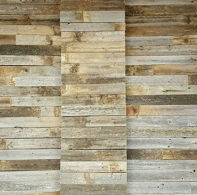 Rustic wood 10 square feet. Great! for barnwood walls