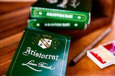 Aristocrat Deck - Green - Playing Cards - Magic Tricks - New