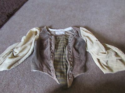 Covent Garden,Royal Opera House sleeved bodice, theatre costume