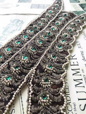 Beautiful Art Deco Flappers Heavily Beaded Shoulder Strap