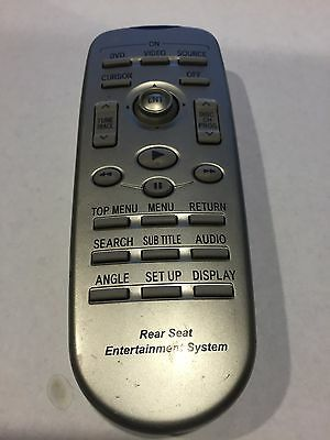 Toyota Sienna Sequoia Highlander 4runner Rav4  DVD Entertainment System Remote