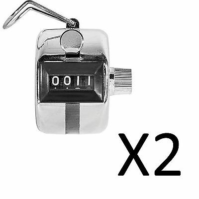Franklin MLB Pitch Tally Counter For Baseball Softball Counting Pitches (2-Pack)