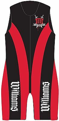 WILLIAMS Mens Sports Water Ski Waterski Buoyancy Wetsuit Wet Suit NEW