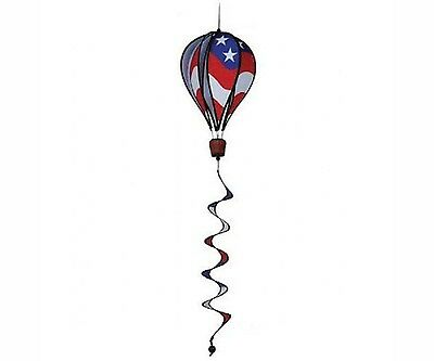 """16""""  PATRIOTIC STARS & STRIPES HOT AIR BALLOON with TAIL by Premier Designs"""