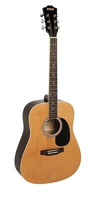 REDDING Dreadnought Acoustic Guitar Pack *NEW* Gig Bag, Tuner, Strap