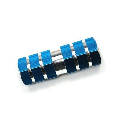 Blue Axle Foot Pegs for Bicycle Bike F6
