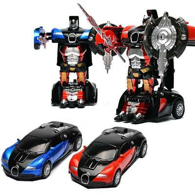 Luxury Alloy inertia Transformers Car Models Robot Kids Toy Birthday Xmas gifts