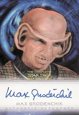 Quotable Star Trek Deep Space Nine DS9 Max Grodenchik / Rom Auto Card