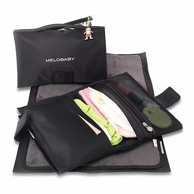 NEW Baby Clothing, Gifts and Accessories Melobaby Nappy Wallet - Black