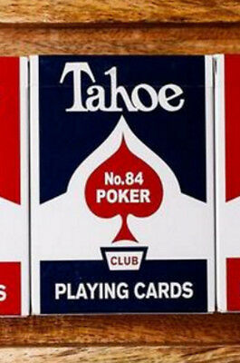 Arrco Tahoe Deck - Blue - Dan and Dave Playing Cards - Magic Tricks - New