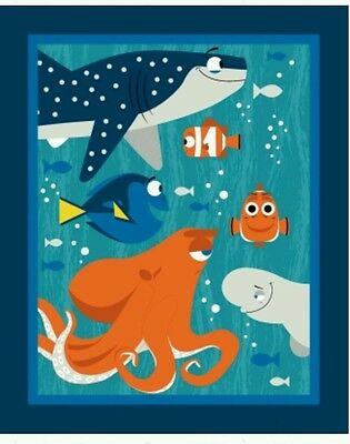 Finding Dory Quilt Panel * New * In Stock * Free Post * ��