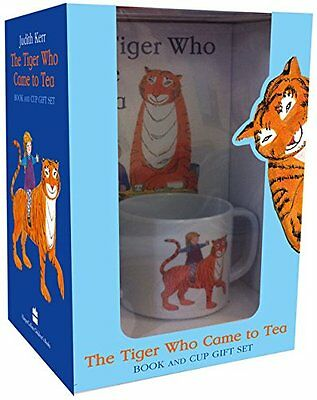 The Tiger Who Came to Tea Book and Cup Gift Set New Hardcover Book Judith Kerr