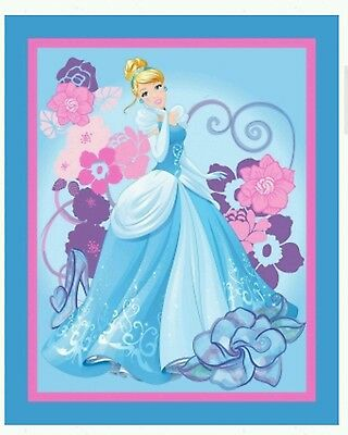 Beautiful Cinderella Quilt Panel * New * In Stock * Free Post *