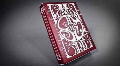 Smoke and Mirrors Deck - Red - Dan and Dave Playing Cards - Magic Tricks