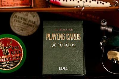 Vintage Plaid Playing Cards - Red - Dan and Dave Deck - Magic Tricks - New