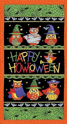 Midnight Masquerade Quilt Panel.. New....halloween...free Post...in Stock Now