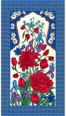 Mosaic Garden Quilt Panel * New * In Stock * Free Post *