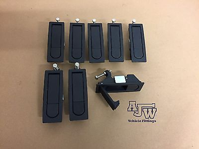 8 X Compression SMALL Latch Lever Lock Horsebox Trailers Locker Doors Tack Box