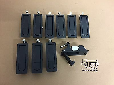 10 X Compression SMALL Latch Lever Lock Horsebox Trailers Locker Doors Tack Box
