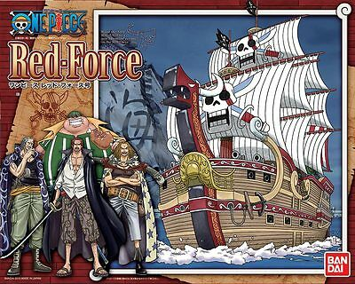Red Force Ship Grand Ship Collection Bandai One Piece Kit Neu/ovp
