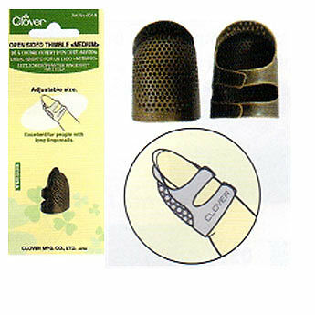Metal Open-Sided Thimble - Small
