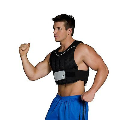 CAP Barbell Adjustable Weighted Vest 20-Pound Gain Strength Burn Calories NEW!