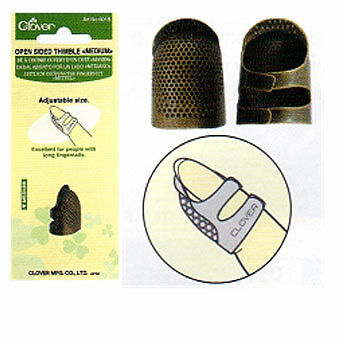 Metal Open Sided Thimble - Medium