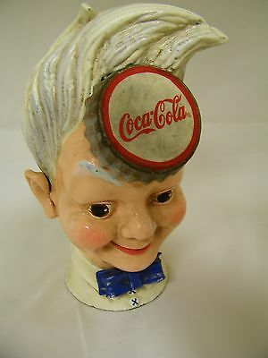 Coca Cola Sprite Boy Cast Iron Bank NIB 1999