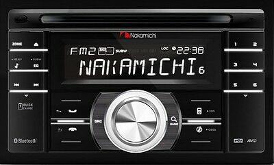 Nakamichi NA780 CD / USB / SD Double DIN Car Audio Receiver