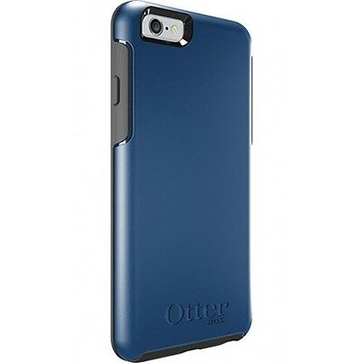 Genuine Otterbox Symmetry Series Shockproof Rugged Case For iPhone 6 6S Blue