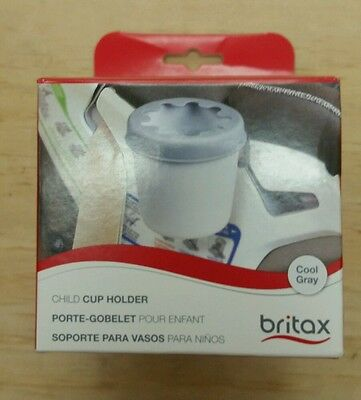 Britax Convertible Child Cup Holder, Cool Gray, New
