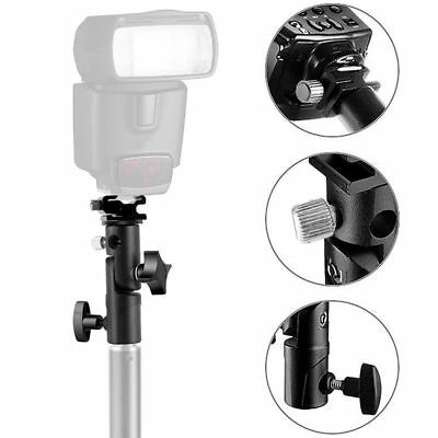 Umbrella Holder Mount E Type Flash Light Stand Bracket For DSLR Camera Universal