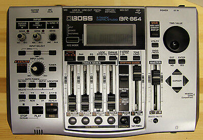 Boss BR-864 8-Track Digital Studio - No Power Supply